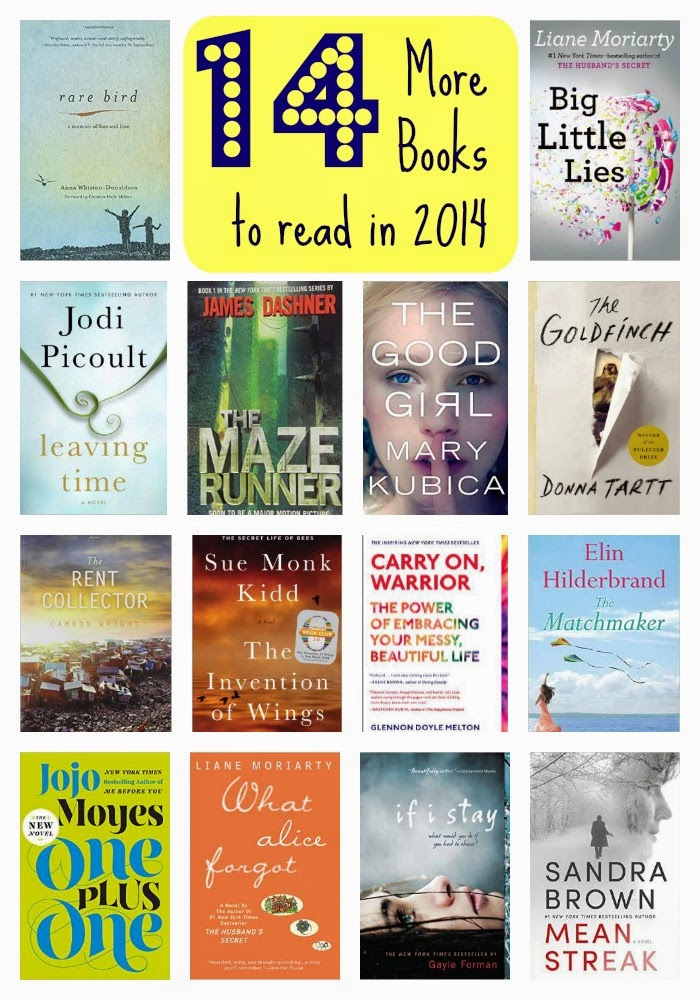 14 More Books to Read in 2014 : The Chirping Moms
