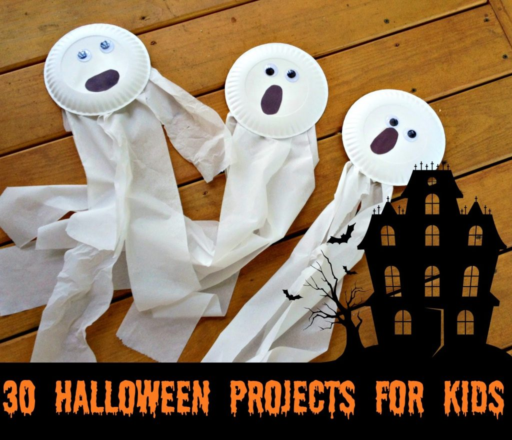 30 halloween projects for kids the chirping moms its time to pull out the black and orange paint pipe cleaners and construction paper were back with another year of fun halloween projects for kids jeuxipadfo Choice Image