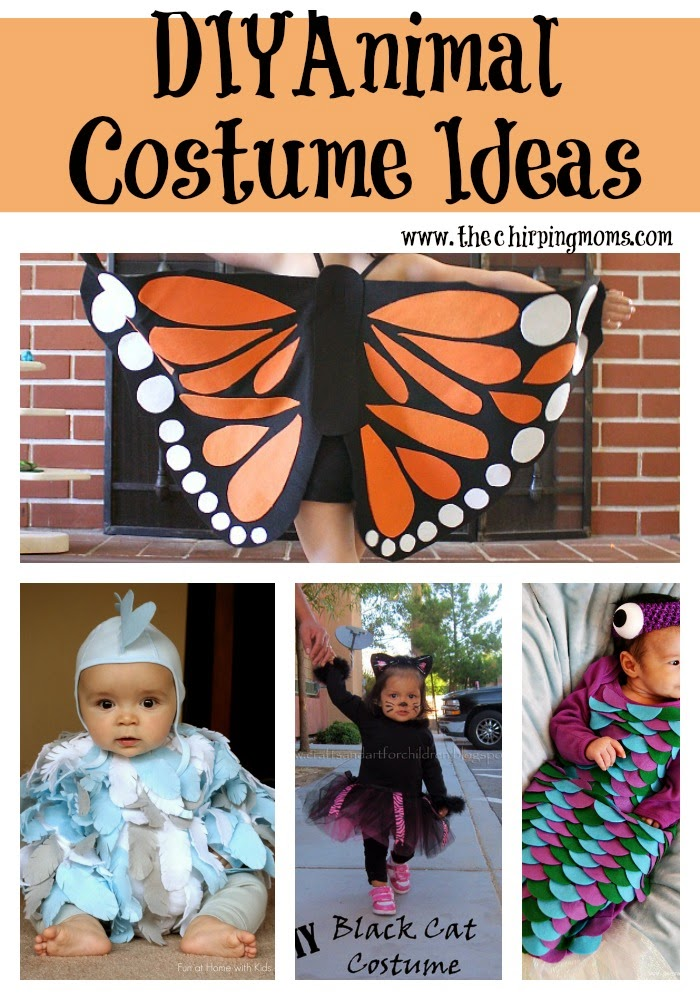 Diy Halloween Costume Ideas For Kids The Chirping Moms