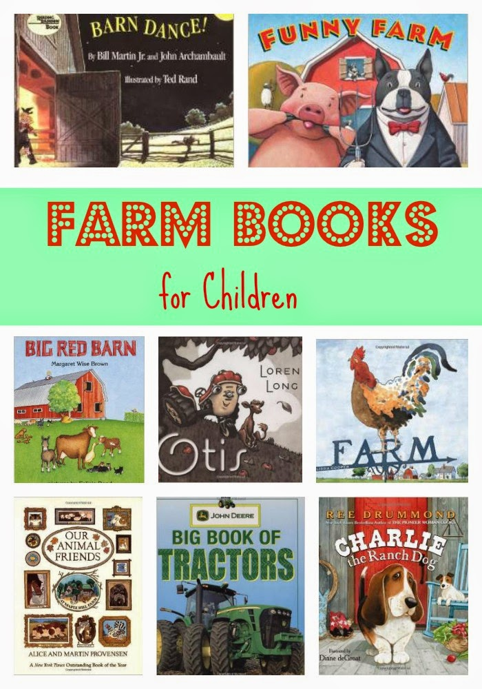 Farm Books for Children : The Chirping Moms