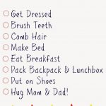 Kids' Daily Checklists