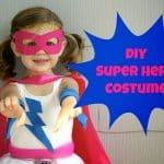 DIY Super Hero Costume For Girls