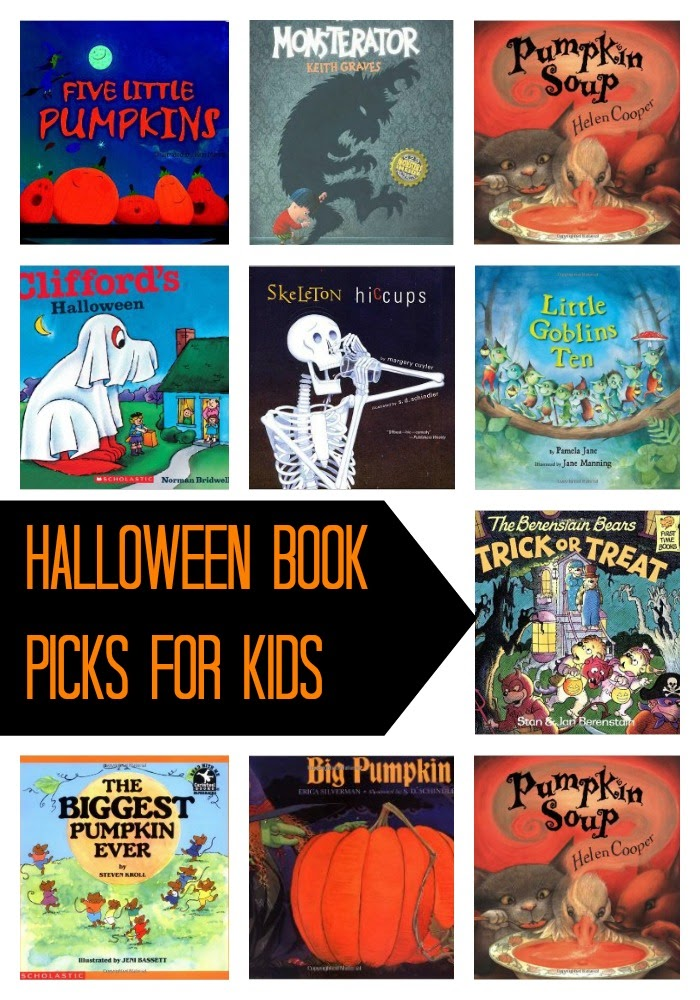 Halloween Book Picks for Kids : The Chirping Moms