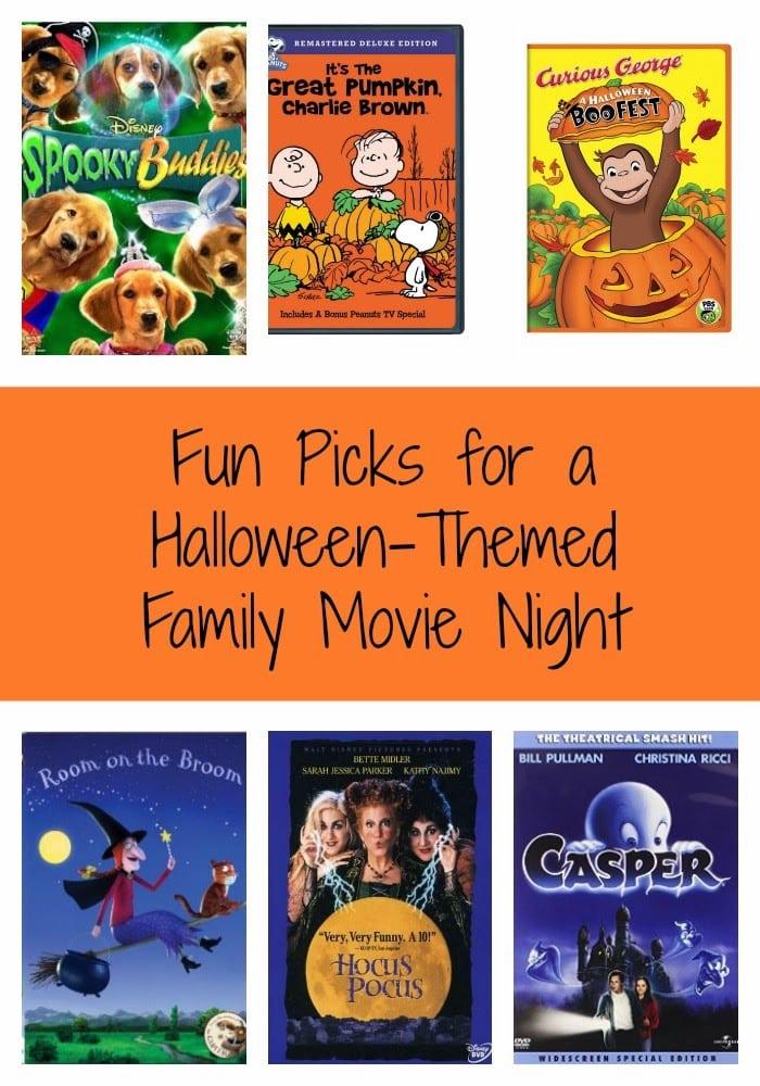 Fun Halloween-Themed Movie Night Picks : The Chirping Moms