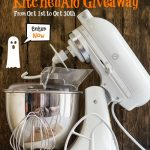 A BIG KitchenAid Mixer Giveaway!