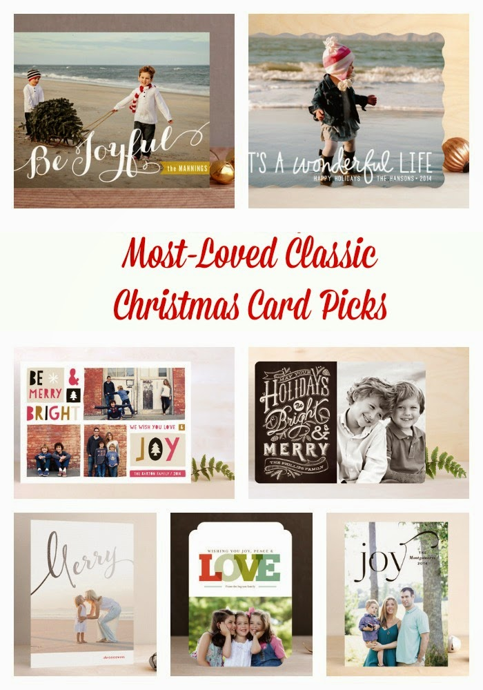 Most Loved Classic Christmas Card Picks : The Chirping Moms