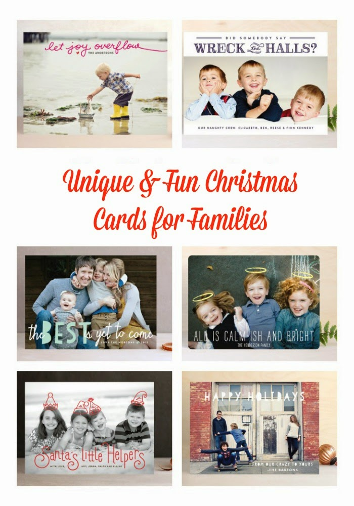 Fun Christmas Card Picks for Families : The Chirping Moms