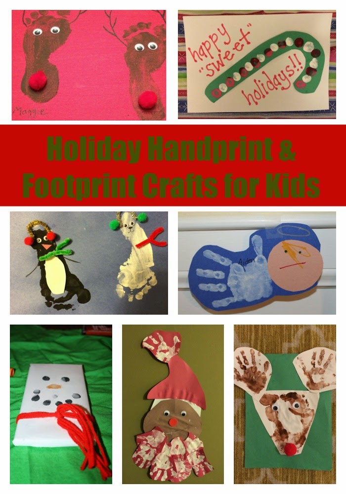 christmas craft ideas for mom handprint amp footprint crafts the chirping 6022