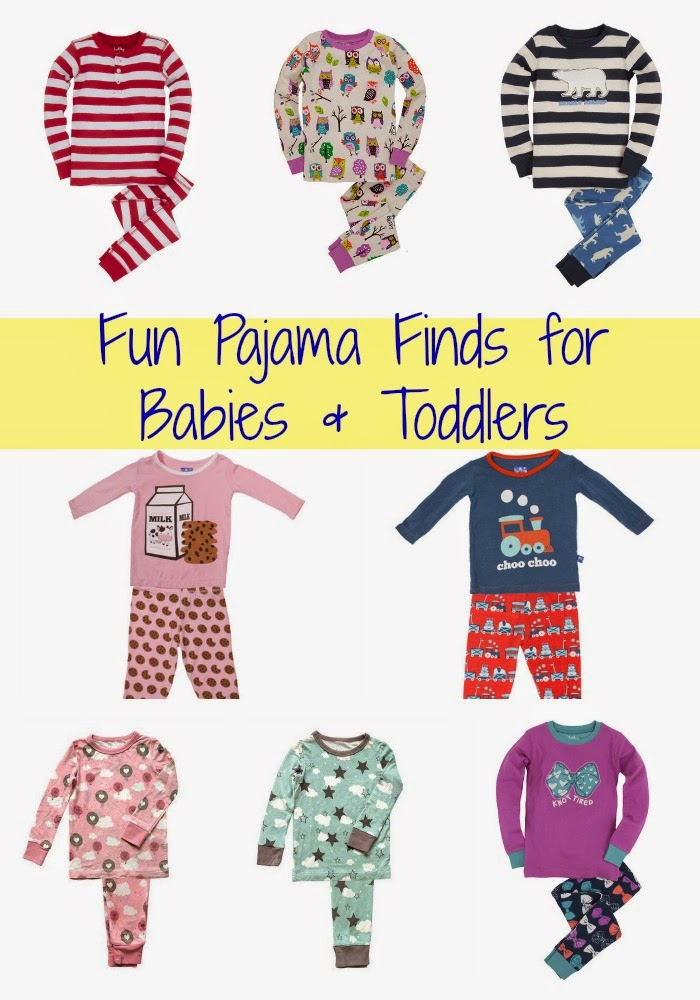 Fun Pajama Finds for Little Ones : The Chirping Moms