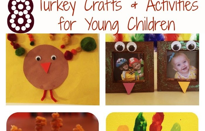 Turkey Crafts & Activities for Young Children