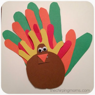 Turkey Crafts for Kids : The Chirping Moms