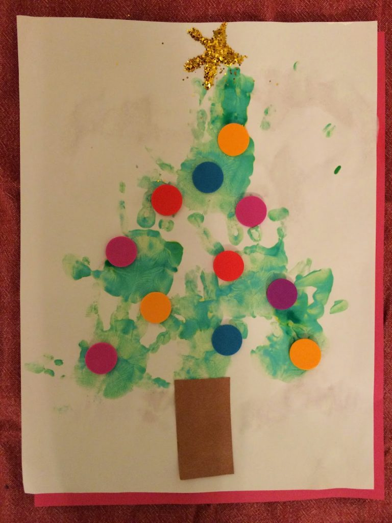 holiday handprint footprint crafts the chirping moms