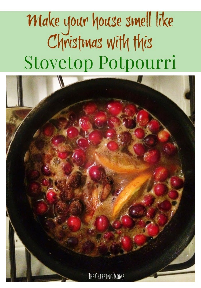 Christmas Stovetop Potpourri : The Chirping Moms