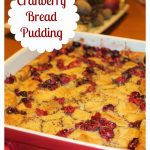 Cranberry Bread Pudding