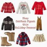 #GiveHappy and Shop OshKosh B'Gosh this Holiday Season!
