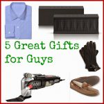 Gift Guide: 5 Great Gifts for Guys {& Giveaway}