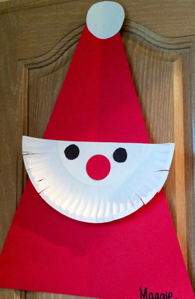 15 christmas crafts for kids the chirping moms for Holiday crafts with construction paper