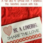 """Be A Lovebug"" Printable Valentine Punch Card"