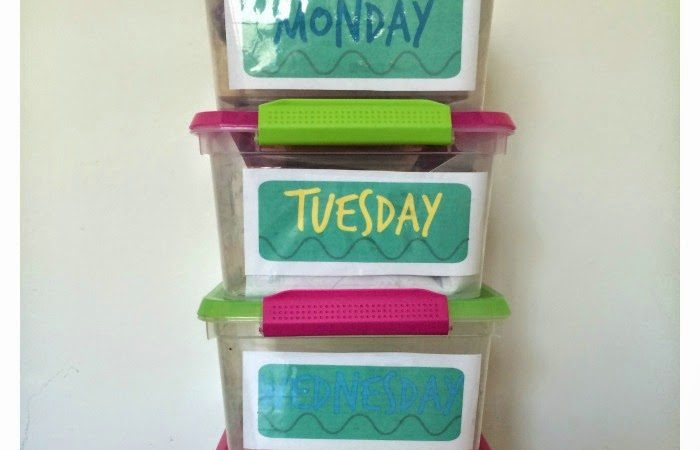 Quiet Time Boxes for Preschoolers: Me Time Boxes