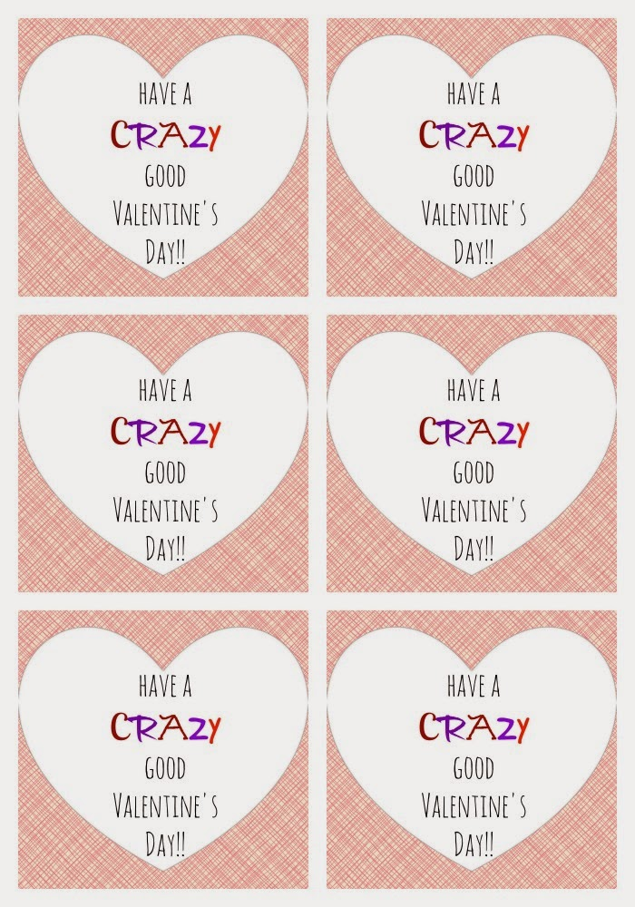 Easy Valentine's Day Straw Favors + Printable || The Chirping Moms