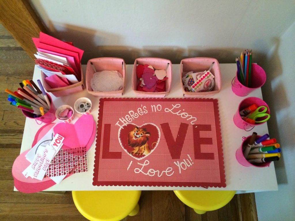 Valentines Day Card Making Party With Printables The Chirping – Valentines Card Making