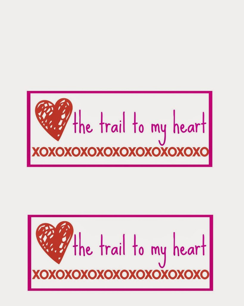 Easy Valentine's Day Trail Mix + Printable || The Chirping Moms