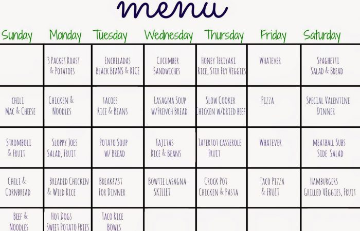 30 Days of Dinners: Another Month of Meal Planning