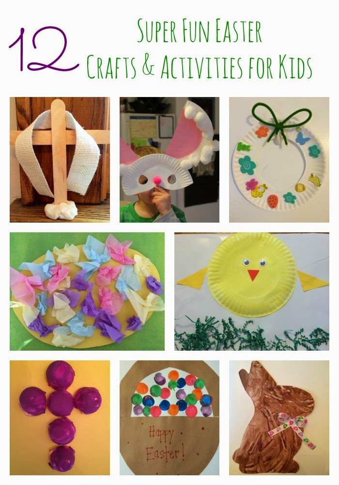 Easter Crafts & Activities for Kids || The Chirping Moms