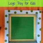 Super Easy Portable DIY Lego Tray