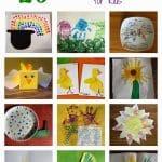 Over 20 Spring Handprint & Footprint Craft Ideas for Kids