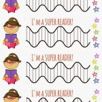 Free Printable Superhero Reading Challenge Chart