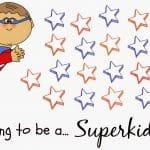 Free Printable Superhero Reward Chart