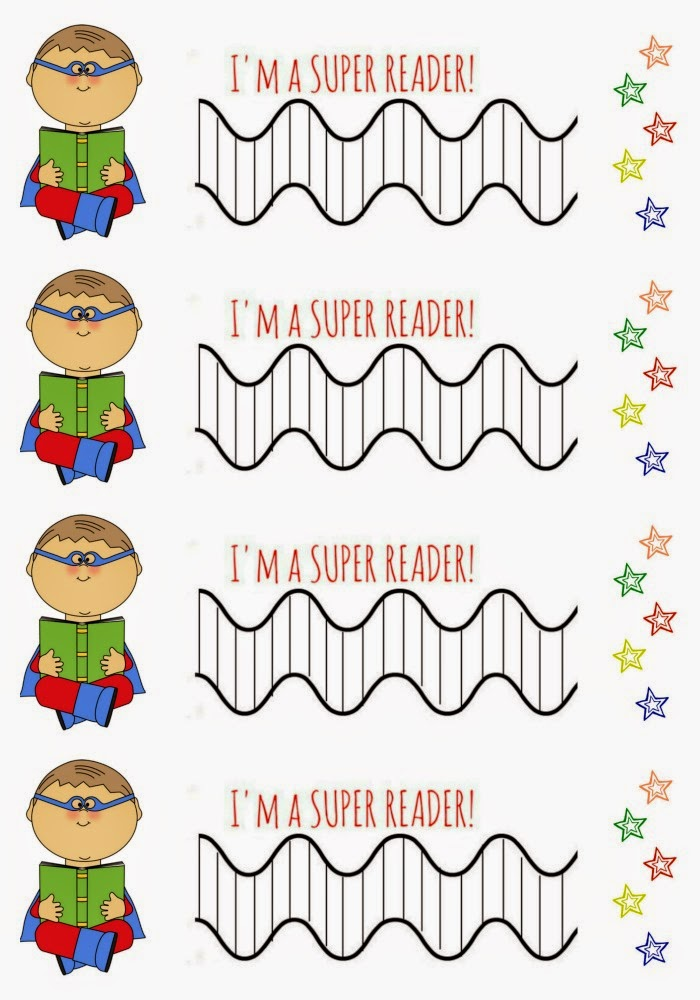 photo relating to Printable Reading Chart named Free of charge Printable Superhero Looking at Issue Chart - The