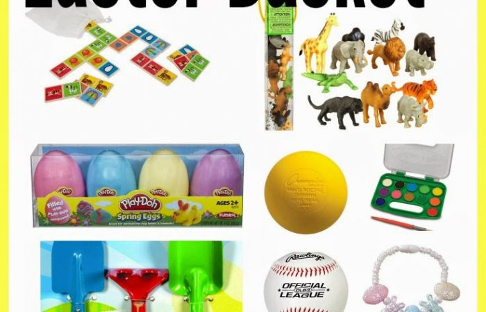 Over 100 Ideas for Filling An Easter Basket