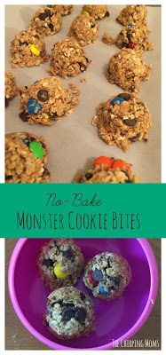 No-Bake Monster Cookie Bites ||  The Chirping Moms