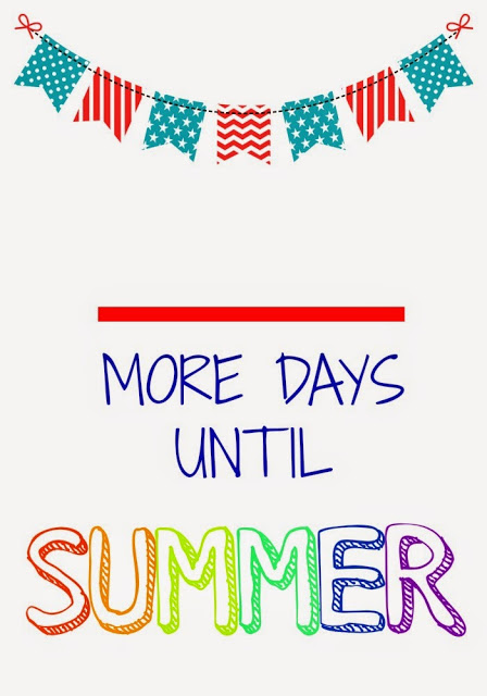 Countdown to Summer (Free Printables) || The Chirping Moms