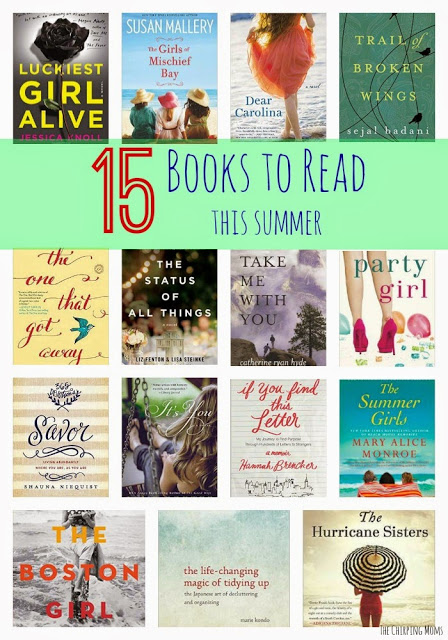 15 Books to Read this Summer || The Chirping Moms