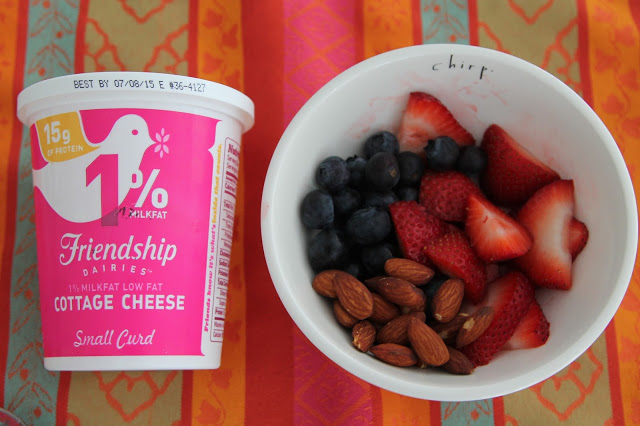 Cottage Cheese Fruit Bowl || The Chirping Moms