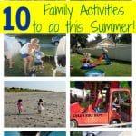 10 Outdoor Summer Activities for Families