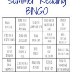 Summer Reading Bingo Challenge for Kids (Free Printables)