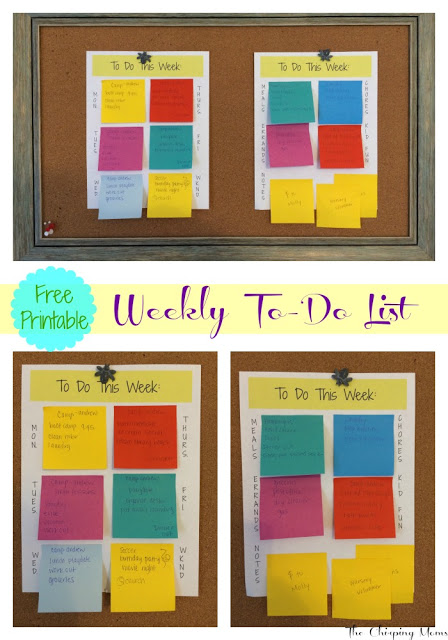 Free Printable Ultimate To-Do List || The Chirping Moms