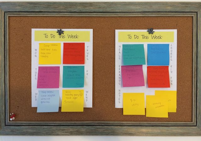 Create Your Own Ultimate To Do List Using the Post-it Brand World of Color Collections
