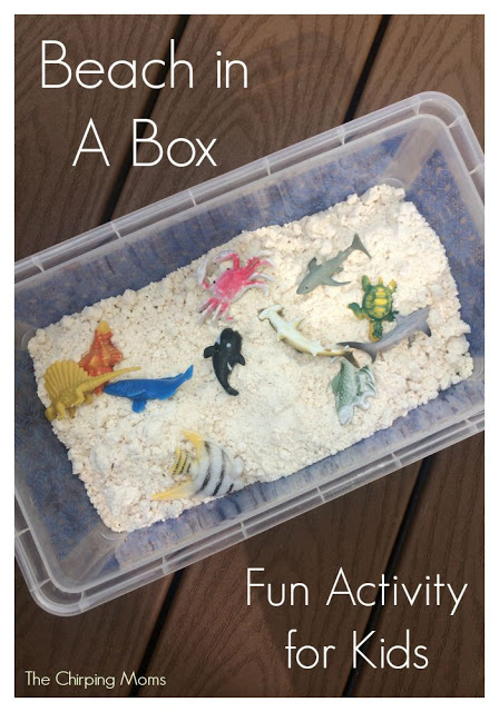 10 Ocean Themed Crafts & Activities for Kids || The Chirping Moms