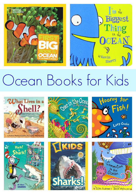 Ocean Themed Books for Kids || The Chirping Moms
