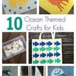 10 Ocean Themed Crafts & Activities for Kids