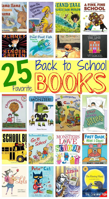 25 Back to School Books for Children || The Chirping Moms