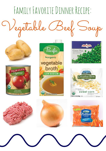 Vegetable Beef Soup Recipe || The Chirping Moms