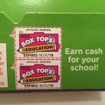 Back to School with Box Tops