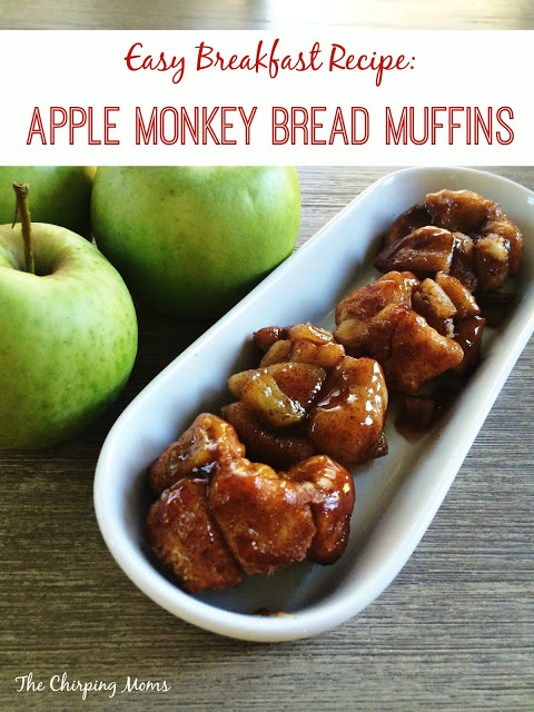 Apple Monkey Bread Muffins || The Chirping Moms