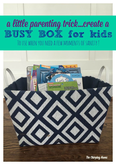 Create A Busy Box for Kids || The Chirping Moms